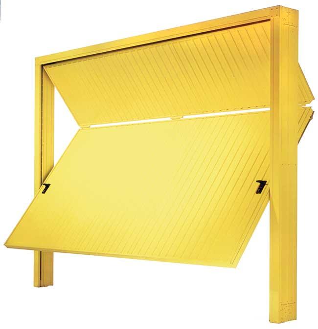 Portoni garage caratteristiche e tipologie rifare casa for Porta basculante per cani grandi con microchip