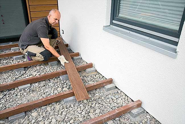 Pedana in legno per esterni  Installazione e scelta