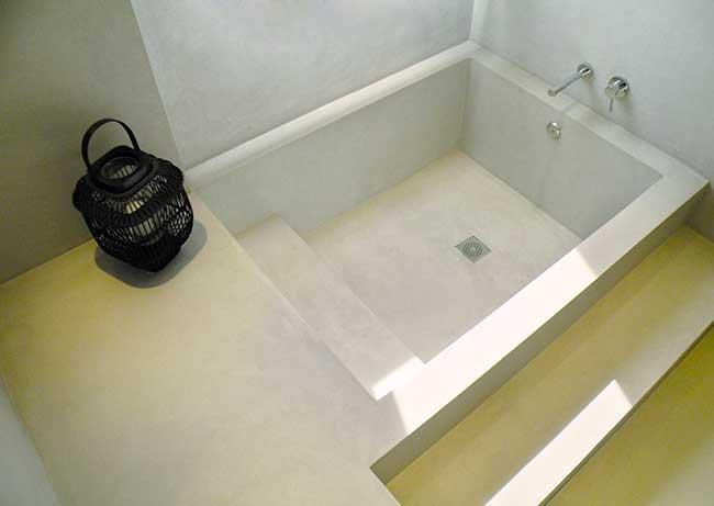 microcemento per il bagno