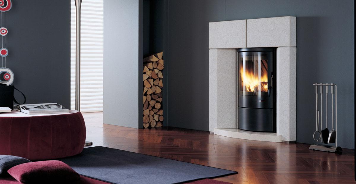 Caminetti Interni Prezzi : Caminetti a legna e pellet caratteristiche e prezzi rifare casa
