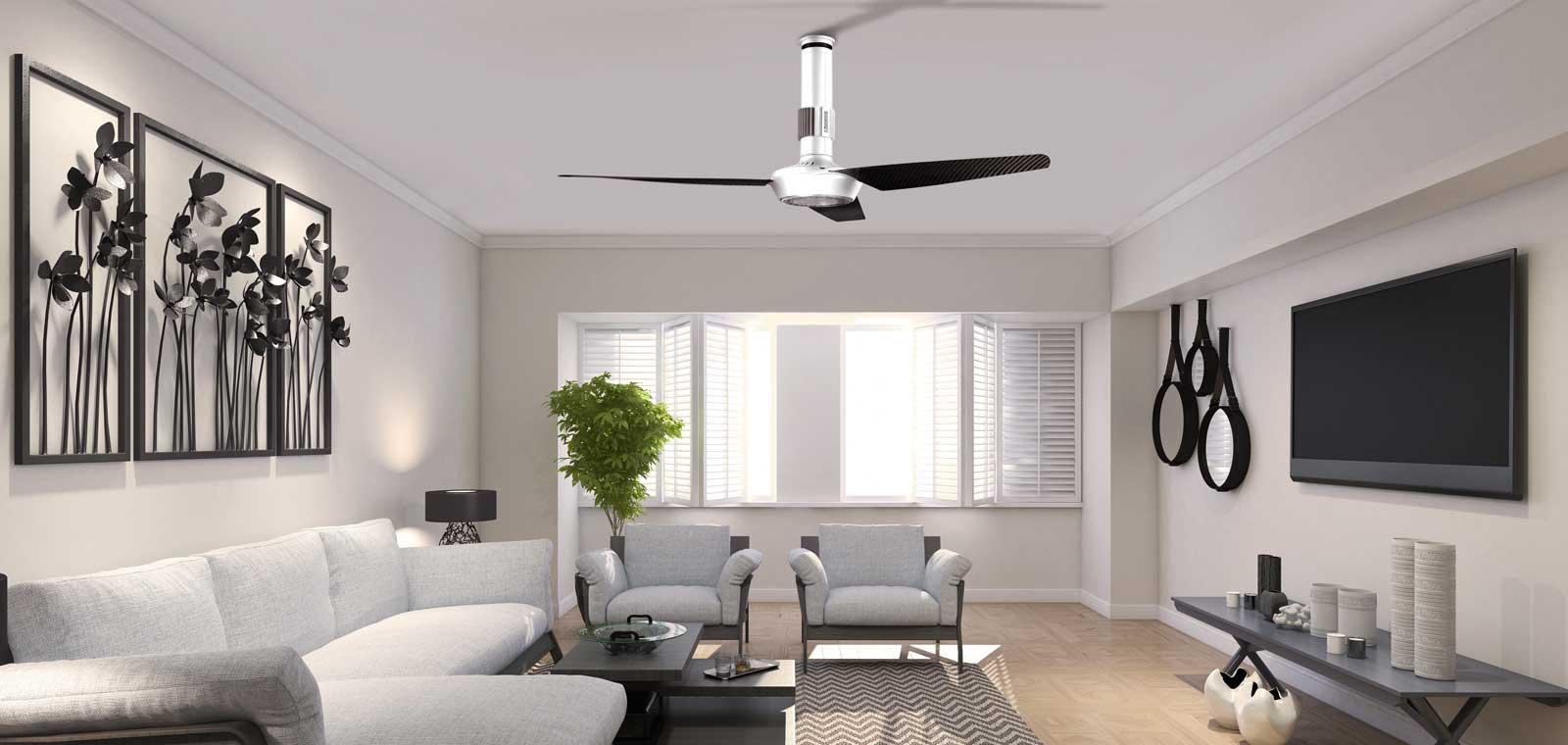 Ventilatori da soffitto integrati con il lampadario per - Ventilatore da soffitto design ...