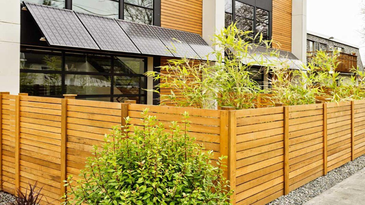 Come Recintare Un Giardino recinzione in legno e altri materiali | scelta, tipologie e