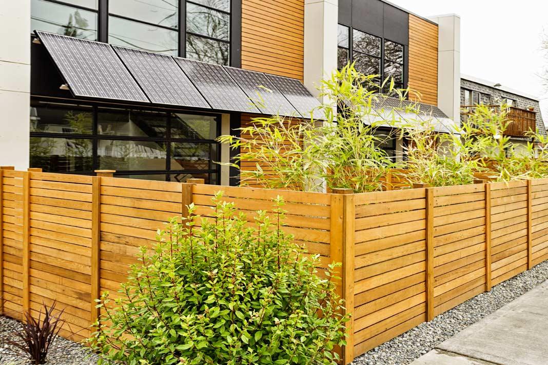 recinzione in legno e altri materiali scelta tipologie ForRecinzione Legno
