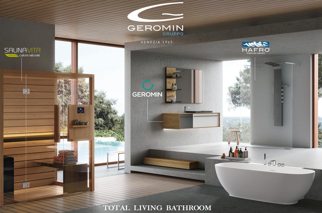 Vasca Da Bagno Hafro : Bagno confortevole le soluzioni geromin per il total living bathroom