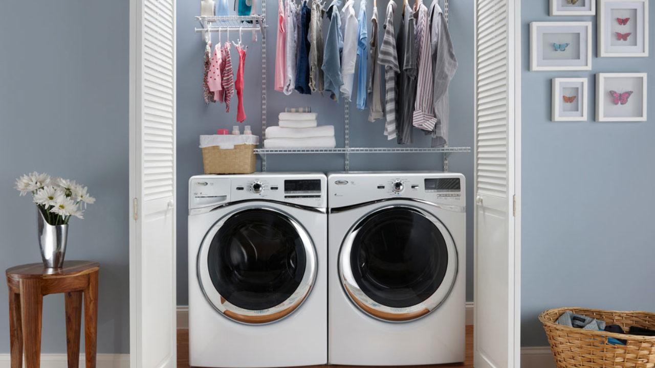 Lavatrice Ed Asciugatrice Sovrapposte lavanderia in casa | come arredare: idee e soluzioni
