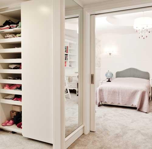 Progetto casa 60 metri quadri con cabina armadio