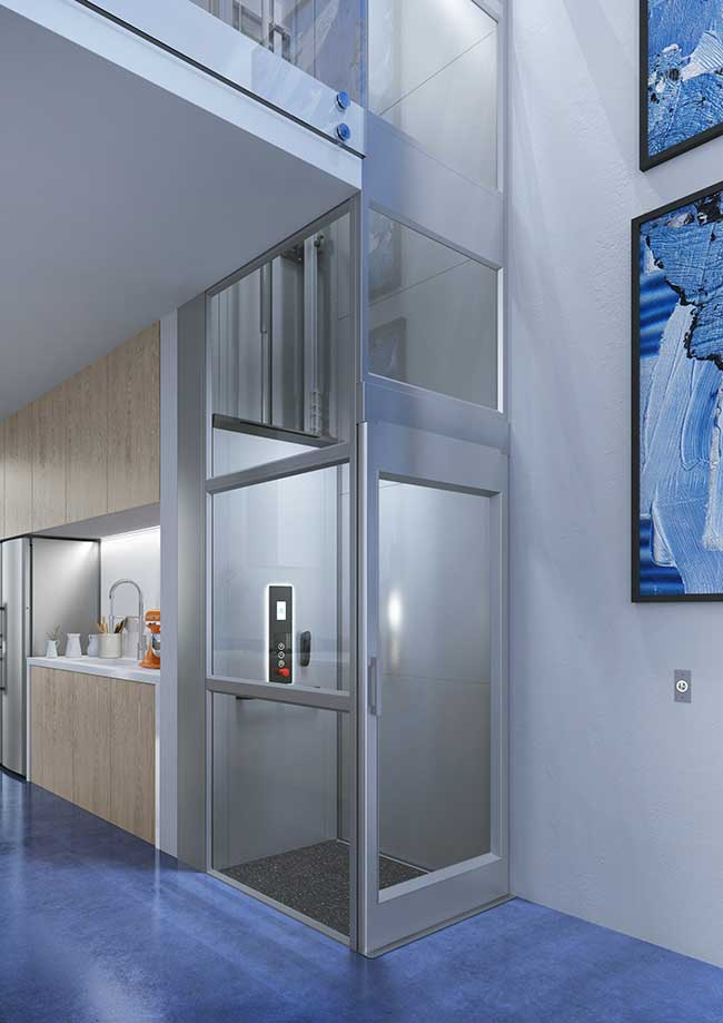 Miniascensori piccoli ascensori da installare in casa dove non c 39 spazio - Mini ascensori da interno ...