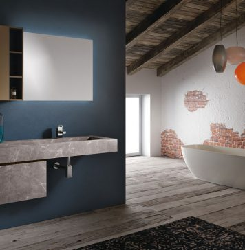 Egue y seta armonioso mix di stili rifare casa - Come abbellire un bagno ...