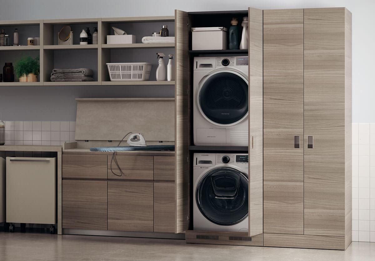 creare una lavanderia in poco spazio