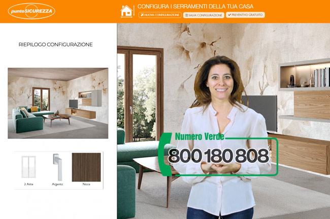 configuratore punto sicurezza casa