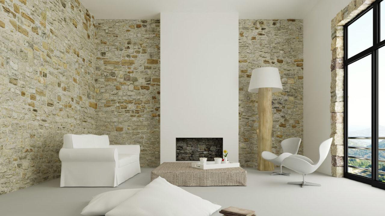 Come Rivestire Un Muro Interno rivestimenti in pietra per interni | le soluzioni per
