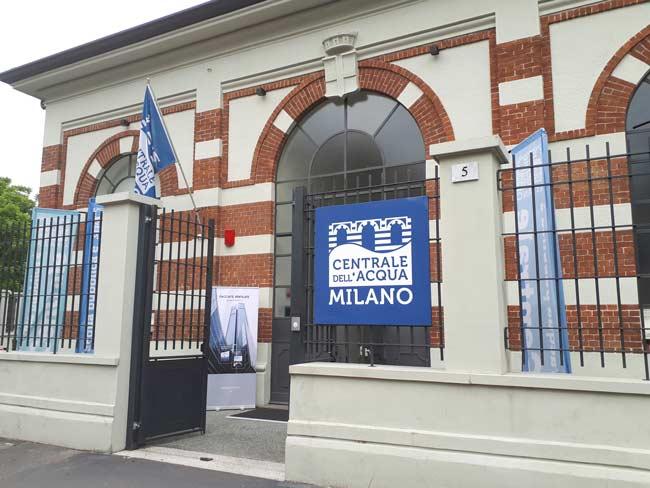 centrale dell'acqua di Milano