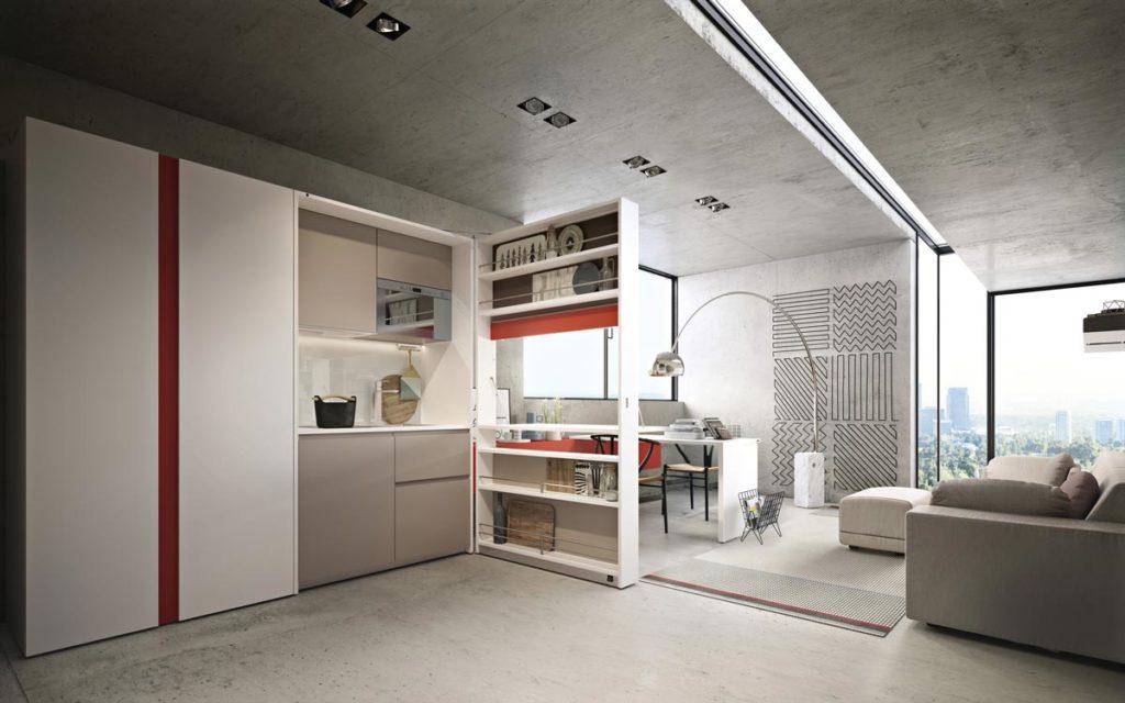 cucine moderne a scomparsa clei