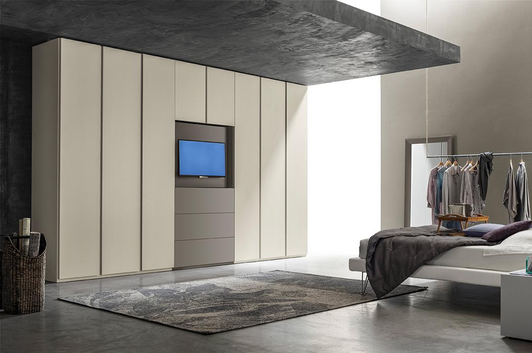 Armadio Camera Da Letto Con Vano Tv.Armadio Con Tv Integrata Tipologie E Caratteristiche Rifare Casa