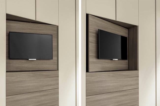 Armadio Con Tv A Scomparsa.Armadio Con Tv Integrata Tipologie E Caratteristiche Rifare Casa