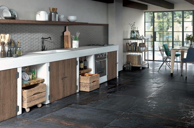 rivestimenti cucina rustica