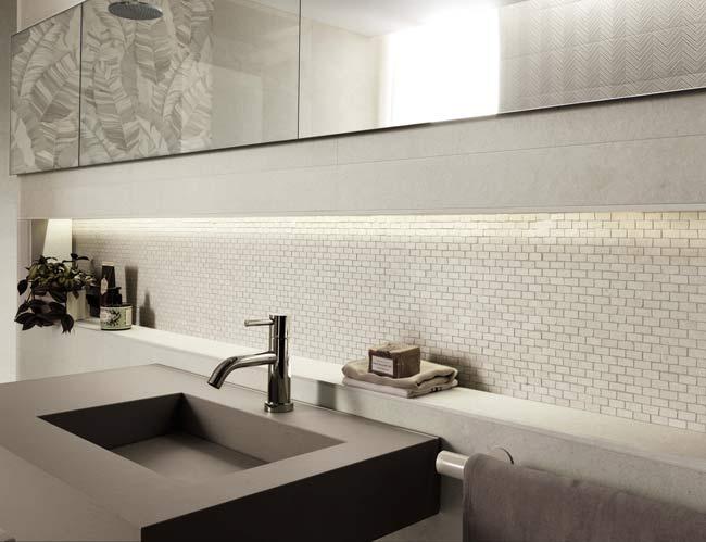 rivestimento mosaico bagno