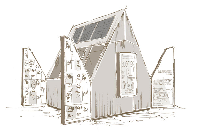 concept struttura ecosostenibile