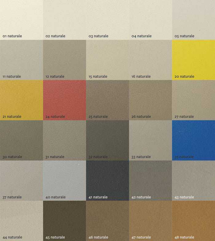 colori rivestimenti